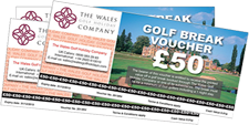 Golf Break Gift Vouchers